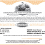 Sample National Fine Arts Title Certificate