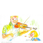 grandpa's fiddle