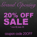 20% Off Art Sale coupon code 20OFF