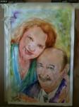 Oscar and Eva's 50th wedding anniversary